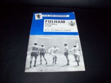 Fulham v West Bromwich Albion, 1968/69 [FA]